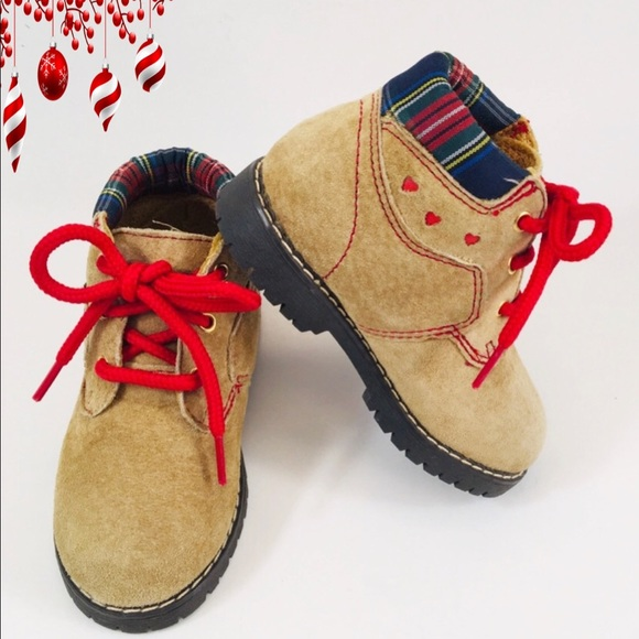 Other - Fashion Traditions Infant Nubuck Hiking Boots